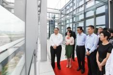 行政長官崔世安在珠海橫琴考察粵澳合作中醫藥科技產業園3