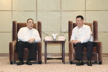 行政長官崔世安與中山市長焦蘭生會面 2