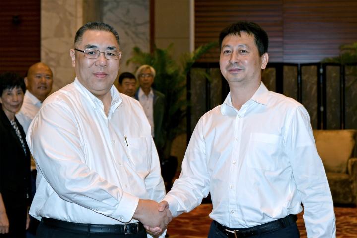 行政長官與惠州市長劉吉會面2