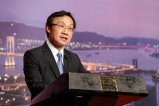 譚俊榮歡迎來自亞洲各地不同旅遊界別的國際順風會分會成員來澳參與年會