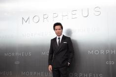 Ma Chin Wa posing duringMelco Morpheus building Opening in Macau, China, on 15 June 2018. Photo by Lucas Schifres