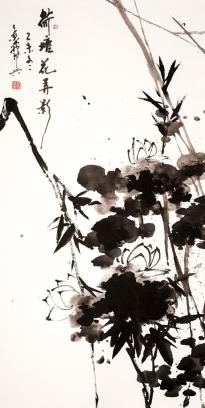 尹景威 - 荷塘花弄影