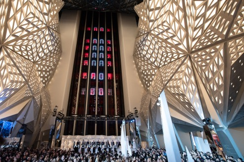 Melco Morpheus building Opening in Macau, China, on 15 June 2018. Photo by Lucas Schifres