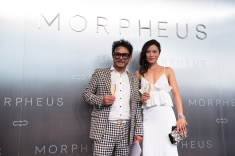 Peter Remedios, Principal and Managing Director of Remedios Studio posing during Melco Morpheus building Opening in Macau, China, on 15 June 2018. Photo by Lucas Schifres