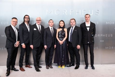 Mr. Lawrence Ho, Chairman and CEO of Melco Resorts & Entertainment posing during Melco Morpheus building Opening in Macau, China, on 15 June 2018. Photo by Lucas Schifres