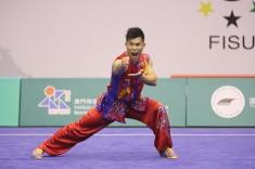 趙偉強男子南拳奪得金牌