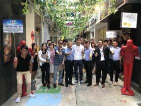 貿促局組織及安排參展參會客商參與澳門的社區經濟導覽及前往珠海商圈考察零售業市場