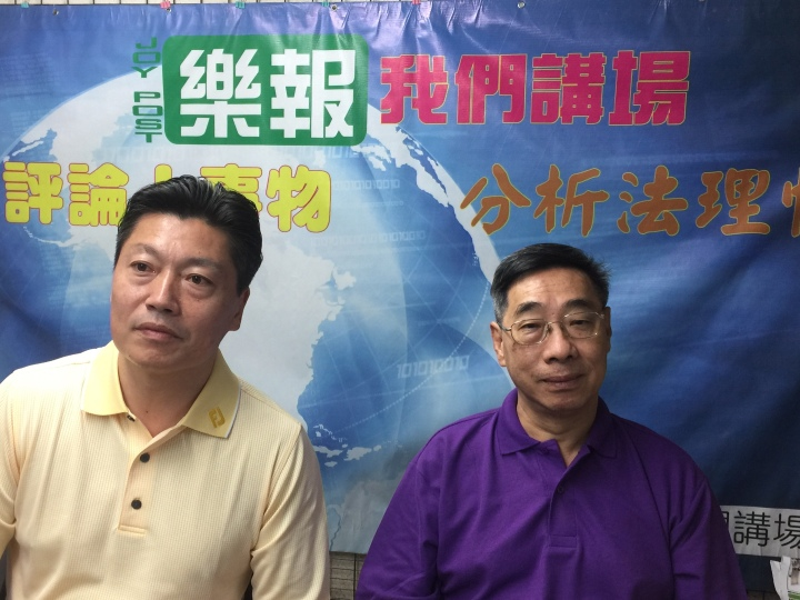 高銘博 (左)