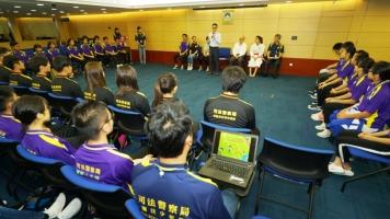 司警局局長鼓勵青少年為將來推動社會發展做好準備