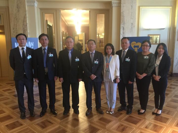 特區政府代表團出席聯合國消除種族歧視委員會第九十六屆會議