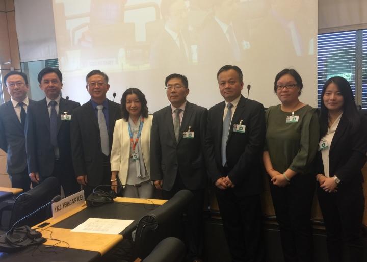 特區政府代表團出席聯合國消除種族歧視委員會第九十六屆會議2