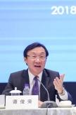 聯委會召集人、澳門特別行政區政府社會文化司司長譚俊榮發言