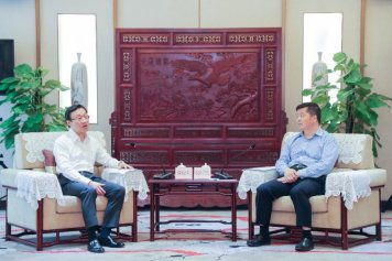 譚俊榮與廣東省副省長歐陽衛民會談