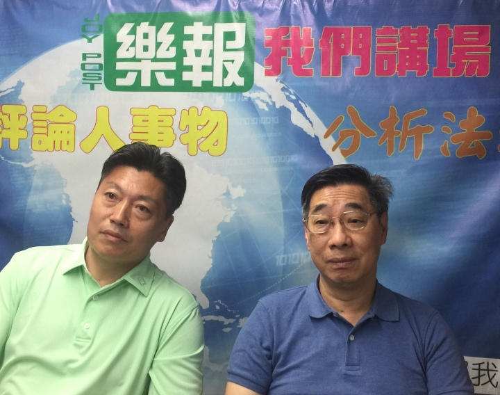 高銘博(左)