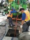 503 民署人員使用泵車清理渠道
