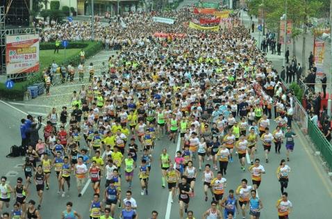 國慶歡樂跑吸引逾萬參加者。