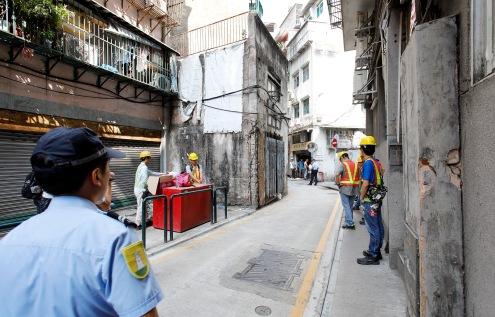收回的水字巷土地將用作擴寬道路(一)