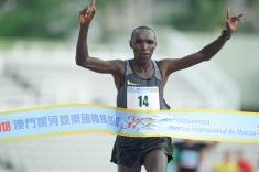金寶爾贏得馬拉松男子組冠軍