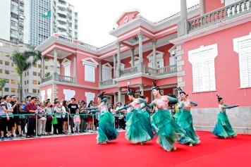 政府總部開放日為參觀人士安排了豐富的表演節目