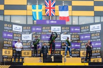 第65屆格蘭披治大賽車三級方程式賽事頒獎儀式