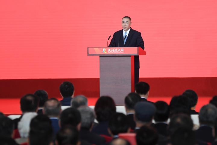 行政長官崔世安在港珠澳大橋開通儀式上致辭