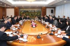 行政長官崔世安與國家發展和改革委員會主任