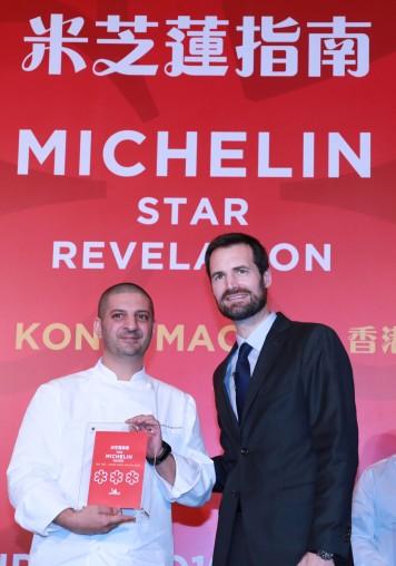 天巢法國餐廳行政總廚 Julien Tongourian Robuchon au Dome Executive Chef Julien Tongourian