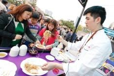 廚藝表演現場亦設有澳門美食和飲品攤位以及特色遊戲