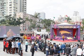 """旅遊局局長文綺華指出這是首次讓澳門市民和旅客認識世界各地""""創意城市美食之都""""的公眾活動"""