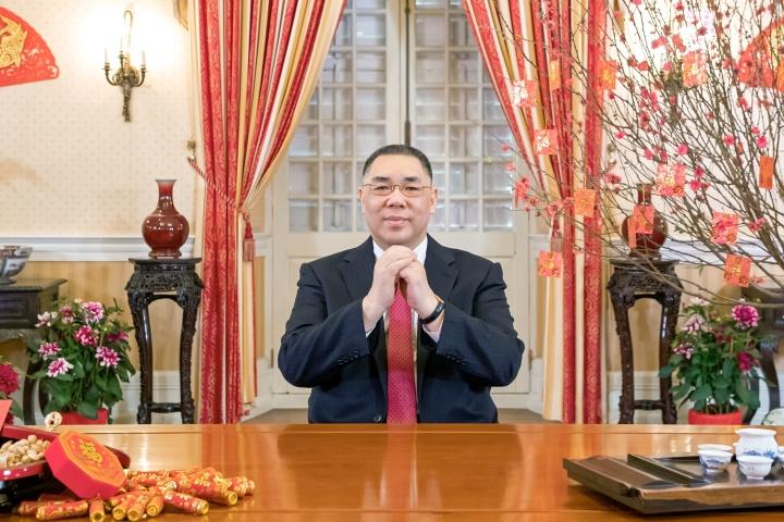行政長官崔世安發表己亥年新春獻辭