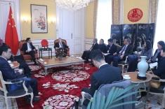 """""""泛珠9+2省區代表葡萄牙及盧森堡商務交流團""""拜訪中華人民共和國駐盧森堡大公國大使館"""