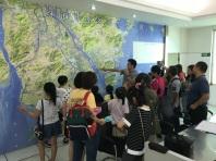 參加者先後參觀廣昌泵站、洪灣泵站、竹仙洞水庫,並由職員介紹每個供水環節、輸配流程和設施