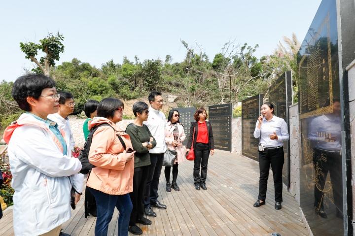 旅遊局及業界代表等進行珠海海島旅遊資源考察活動 (1)