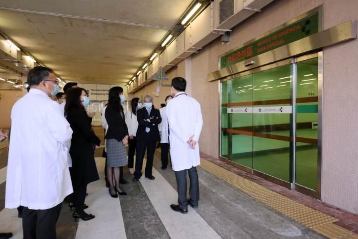 歐陽瑜司長現場了解為應對武漢最新疫情所採取的抗疫措施
