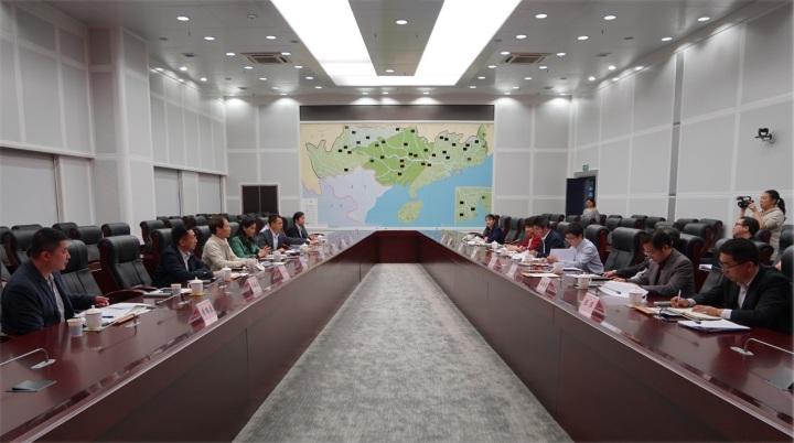 海事局與珠江委交流水域水利事務