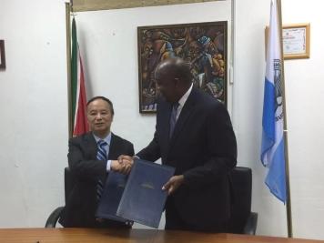 澳大與莫桑比克教育大學簽訂備忘錄