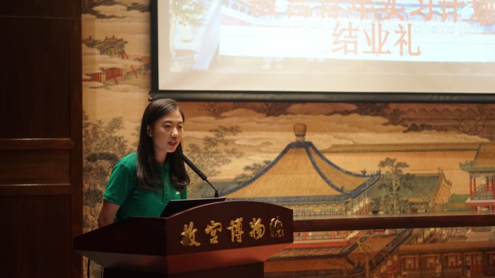 澳門實習生代表鄺子筠表示這次實習收穫豐厚