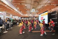 澳門街舞表演團體於旅遊展開幕日表演