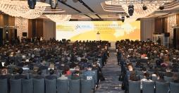 粵、港、澳三地政府共同舉辦的粵港澳大灣區發展規劃綱要宣講會在香港舉行