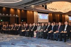 行政長官崔世安在香港出席粵港澳大灣區發展規劃綱要宣講會