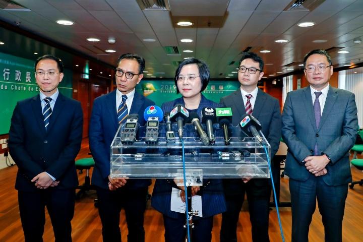 行政長官選舉管理委員會會見傳媒介紹會議內容