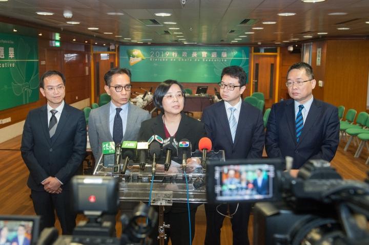 行政長官選舉管理委員會舉行會議