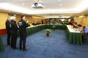 警察總局蔣少鑫警司介紹撤離計劃的資訊