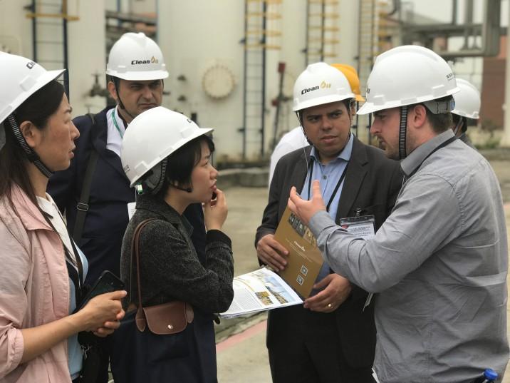 貿促局組織來澳參加2019MIECF之客商赴珠海進行環保項目及技術的參觀考察