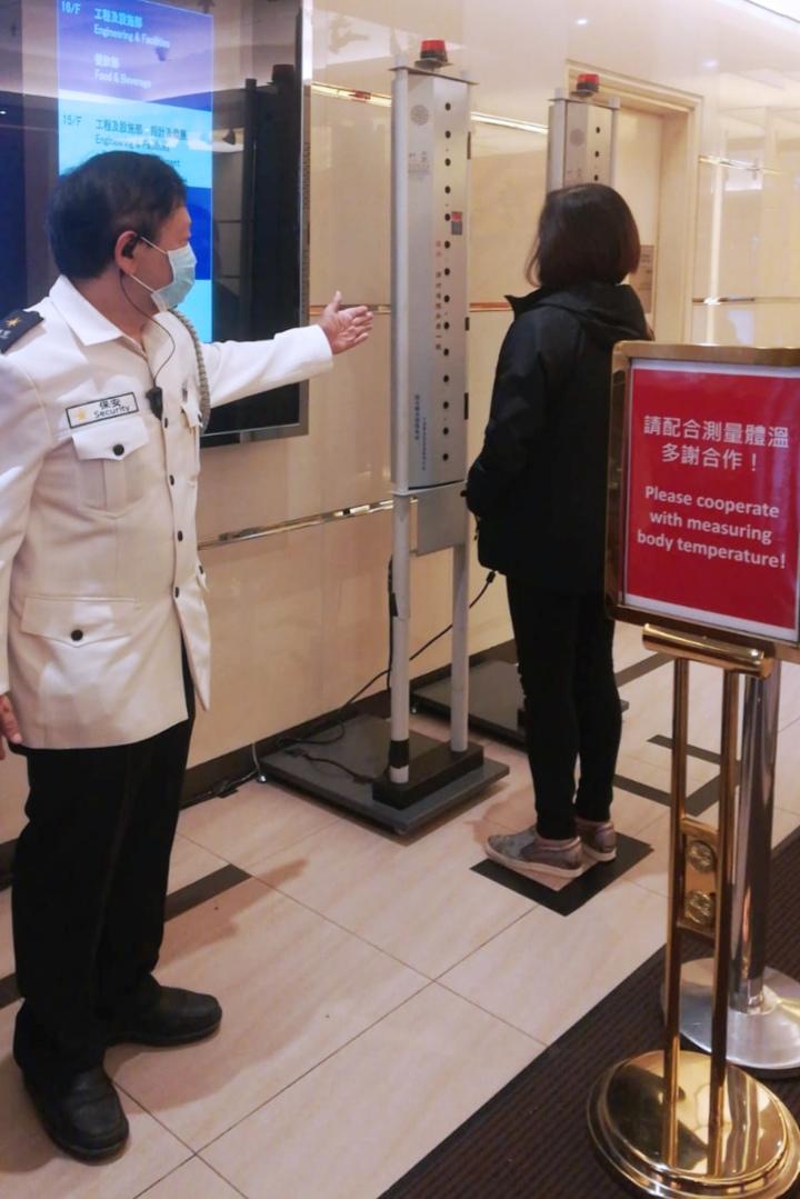 附圖2.部分娛樂場已購置及於娛樂場設置測溫設施