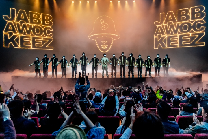 Jabbawockeez 1st Show (1)