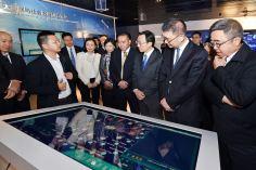 譚俊榮、姚堅一行考察貴州大數據綜合實驗區展示中心