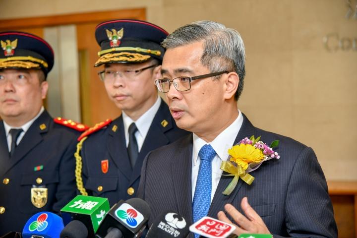 黃少澤:爭取民防綱要法下月或之前交立法會審議