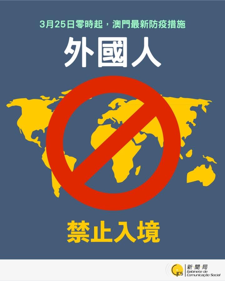 【圖文包】外國人最新入境措施