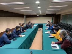 交通局警方兩巴代表舉行會議檢討工程動工後交通情況及相關安排